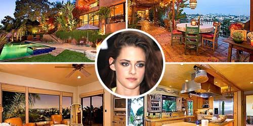 Kristen Stewart Membeli Rumah Mewah Seharga US$2.195.000