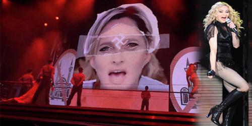 Manggung dengan Lambang Nazi, Konser Madonna Jadi Kontroversi!
