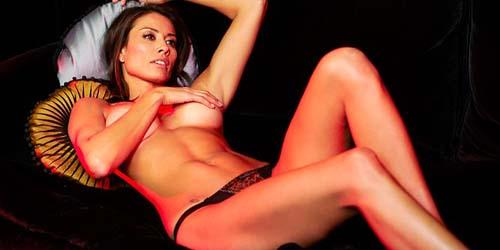 Melanie Sykes Bugil di Esquire