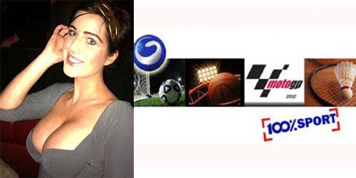 Close Up Dada Helen Flanagan '100% Sport' Global TV Ditegur KPI
