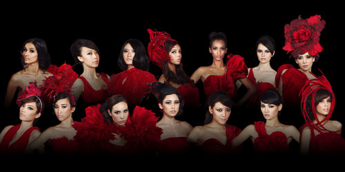 Model Filantropi Wakil Indonesia di Asia's Next Top Models 2012
