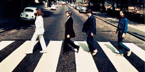 Muncul Foto Langka Abbey Road 'The Beatles'!
