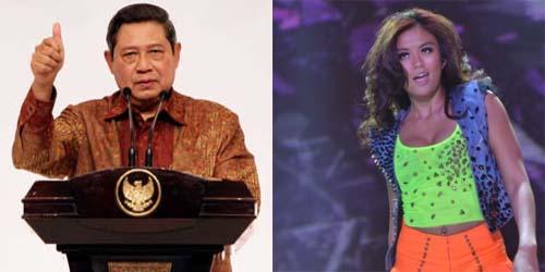 Pak SBY Dukung Agnes Monica Di Ajang World Music Award 2013
