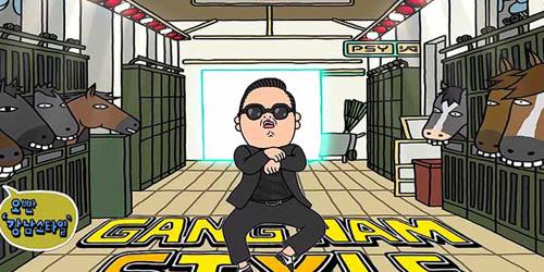 Psy Muncul di Komik Manga Dewasa Jepang