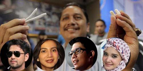 Raffi Ahmad, Wanda, Irwansyah & Zaskia Negatif Konsumsi Narkoba