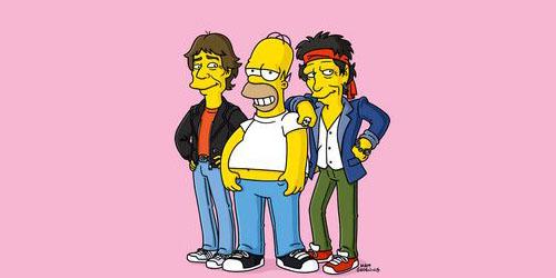 10 Rock Star yang tampil di 'The Simpsons'