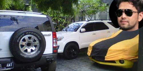 Sederet Kendaraan Mewah Raffi Ahmad