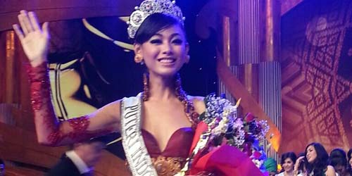 Whulandary, Perwakilan Sumbar Terpilih Jadi Puteri Indonesia 2013