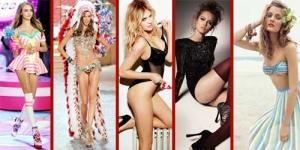 10 Model Muda Seksi Paling Bersinar Sepanjang Tahun 2012