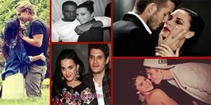 10 Pasangan Selebriti Hollywood Paling Hot 2012