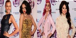 5 Seleb Dengan Fashion Terbaik Di MTV EMA 2011
