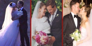 5 Seleb Hollywood yang Menikah di Tahun 2012