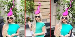 Aksesoris Kepala Lady GaGa Berbentuk Sperma
