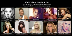 Agnes Monica Lawan Adele, Rihanna di World Music Awards 2013