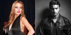 Aiih! Gantengnya Pacar Baru Lindsay Lohan