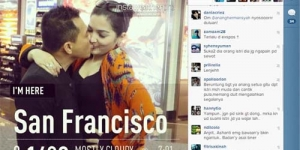 Anang Hermansyah Posting Foto Ciuman Bibir dengan Ashanty