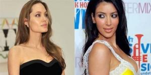 Baru Naik Daun, Kim Kardashian Sesumbar Lebih Tenar dari Angelina Jolie!