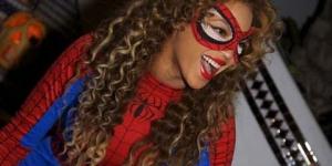 Beyonce jadi Spiderman ?