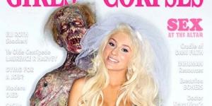 Courtney Stodden Berpose Bugil Bareng Zombie