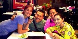 Di Amerika, Anang - Ashanty Dinner Bareng Agnes Monica