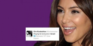Dukung Israel Lewat Twitter, Kim Kardashian Dikecam