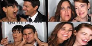 Foto Konyol Artis di 'Vanity Fair Oscar Party'