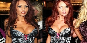 Foto Seksi Amy Childs Si Ratu Bra