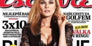 Foto Seksi Diane Kruger Topless di Esquire