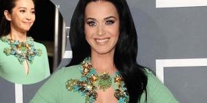 Gaun Grammy Katy Perry Bekas Artis China Li Bingbing?