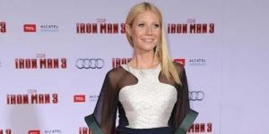 Gwyneth Platrow Tampil Seksi Dengan Gaun Transparan Di Premier Iron Man 3