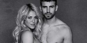 Hamil Besar, Shakira Berpose Hot Bareng Kekasihnya, Gerard Pique
