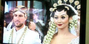 Indah Kalalo Resmi Menikah Dengan Ibrahim Justin Werner