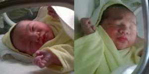 Inilah Wajah Imut Bayi Laki-laki Pasha Dan Adel