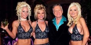 Intip Ulang Tahun Bos Playboy ke 86 Bertabur Model Seksi