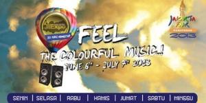 Jadwal Lengkap Artis di Panggung Musik PRJ 2013