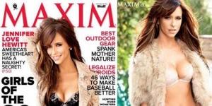 Jennifer Love Hewitt Berbikini di Cover Majalah Maxim