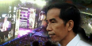 Jokowi Nonton Music Bank Sambil Kenakan Jaket Super Junior
