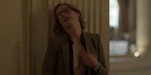 Kathleen Robertson Topless di Serial BOSS