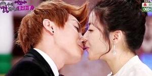 Leeteuk 'Super Junior' Ultah, Kang Sora Hadiahi Ciuman Bibir