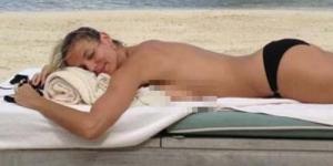 Liburan di Miami, Heidi Klum Berjemur Sampil Topless