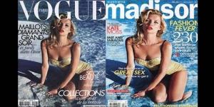Majalah Madison Daur Ulang Gambar Kate Moss di Sampul Majalah Vogue