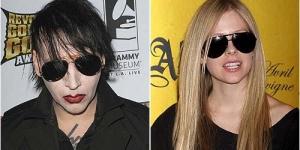 Marilyn Manson Lupa Pernah Berhubungan Seks dengan Avril Lavigne