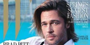 Maskulinnya Brad Pitt di W Magazine