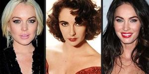 Megan Fox dan Lindsay Lohan Berebut Perankan Elizabeth Talor