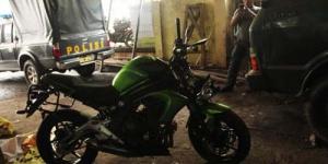 Motor Kawasaki Ringsek Milik Uje Akan Dilelang