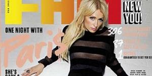 Paris Hilton Bugil di Majalah FHM