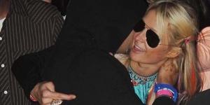 Paris Hilton Cium DJ Afrojack di Coachella 2012