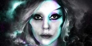 Poster Baru 'Born This Way Tour' Lady GaGa Diwarnai Penampakan Hantu (Foto)