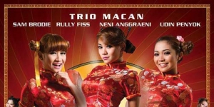 Poster 'The Legend Of Trio Macan' Tampil Seksi Ala Kung Fu