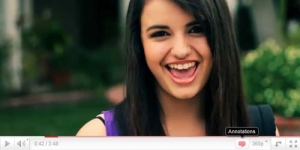 Rebecca Black Paling Populer di Youtube 2011
